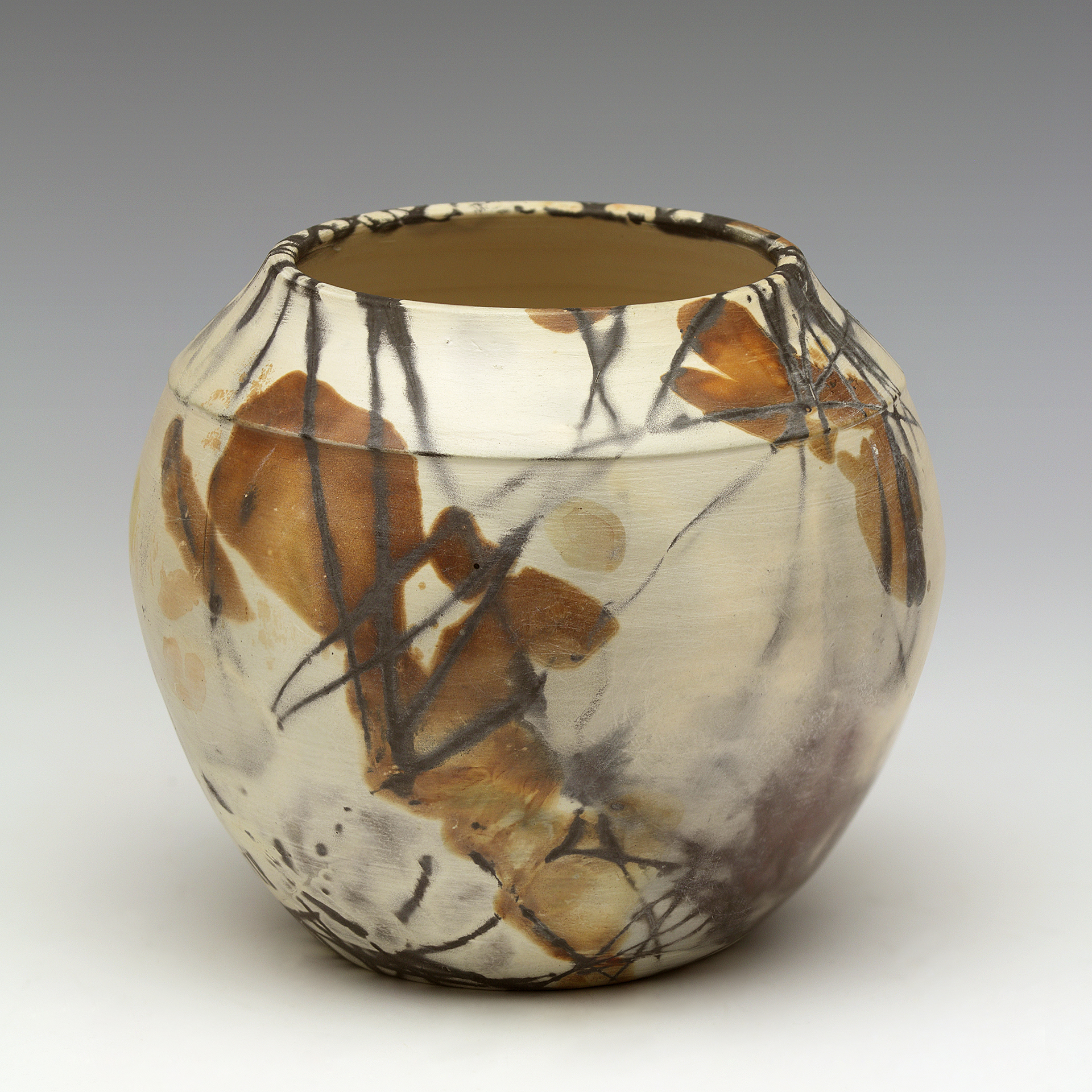 Pitfired Vase