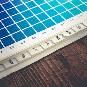 Request an estimate for printing index tabs.