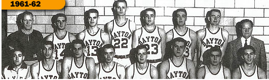 University of Dayton Men, 1962