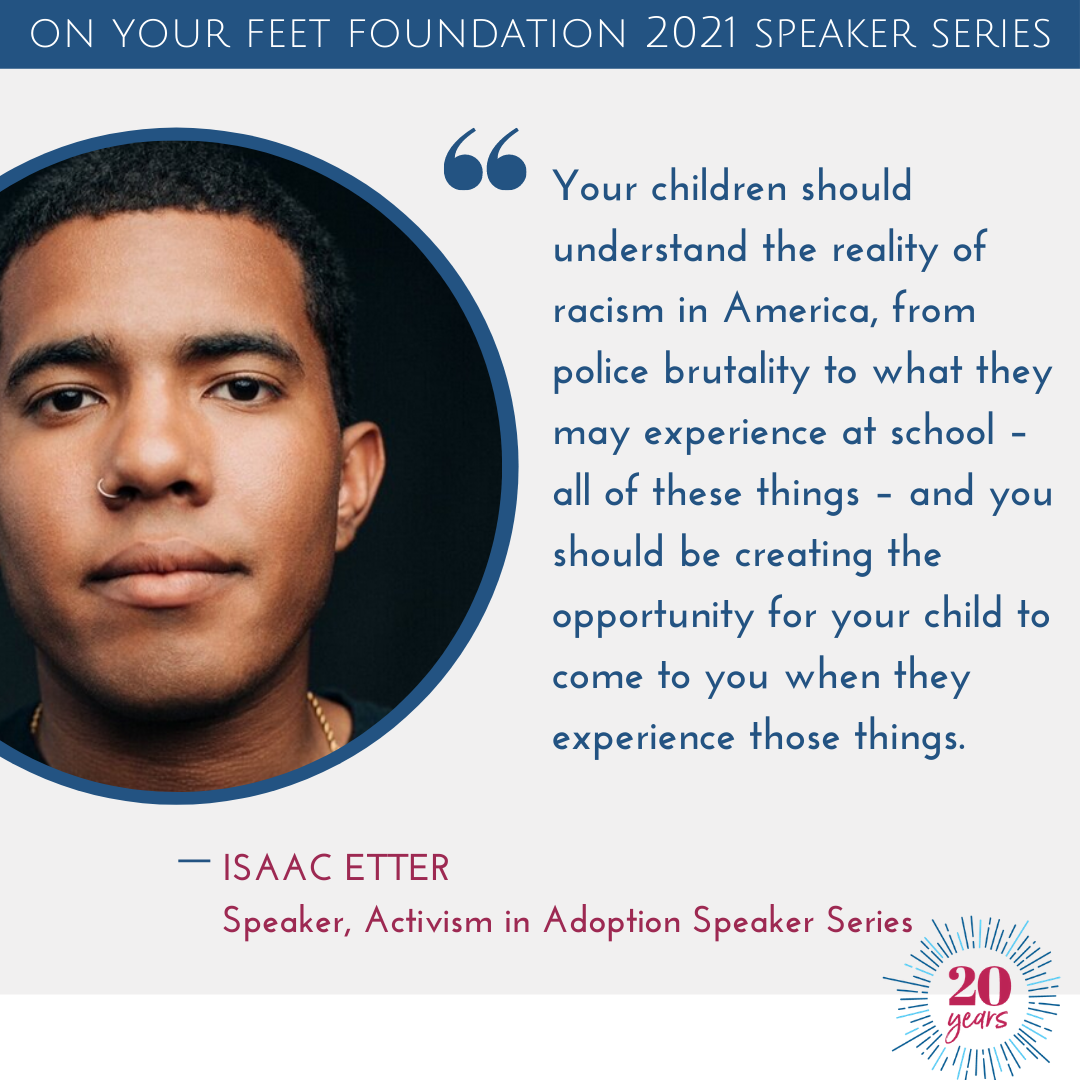 Activism in Adoption 2021: Isaac Etter Recap (and resource list)