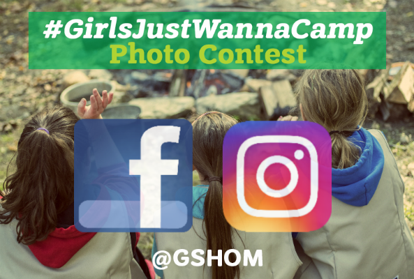 #GirlsJustWannaCamp Photo Contest!