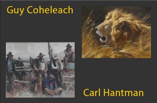 Guy Coheleach and Carl Hantman