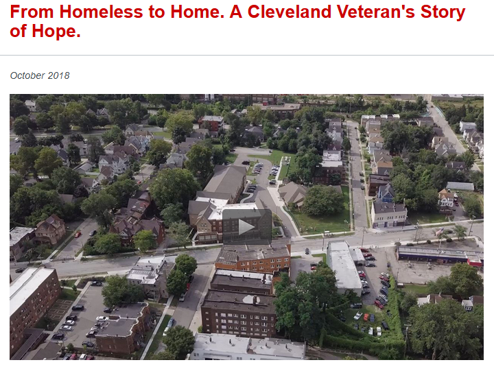 Cleveland's West Side in 'housing first' video