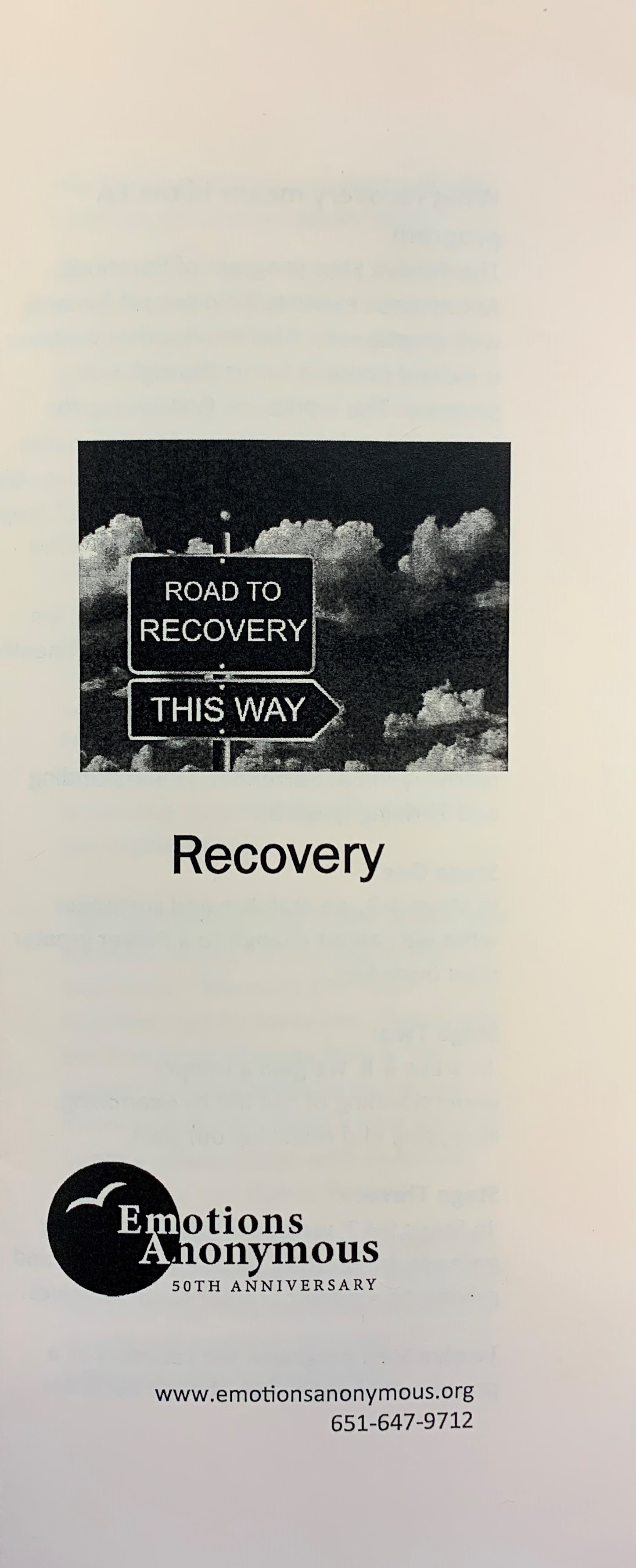 #98 — Recovery (NEW: July 2021)!!!