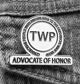 Photo of Advocate of Honor pin