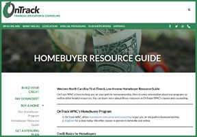 NEW: First Time Homebuyer Resource