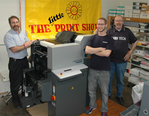 Heidelberg Quickmaster Two Color Press