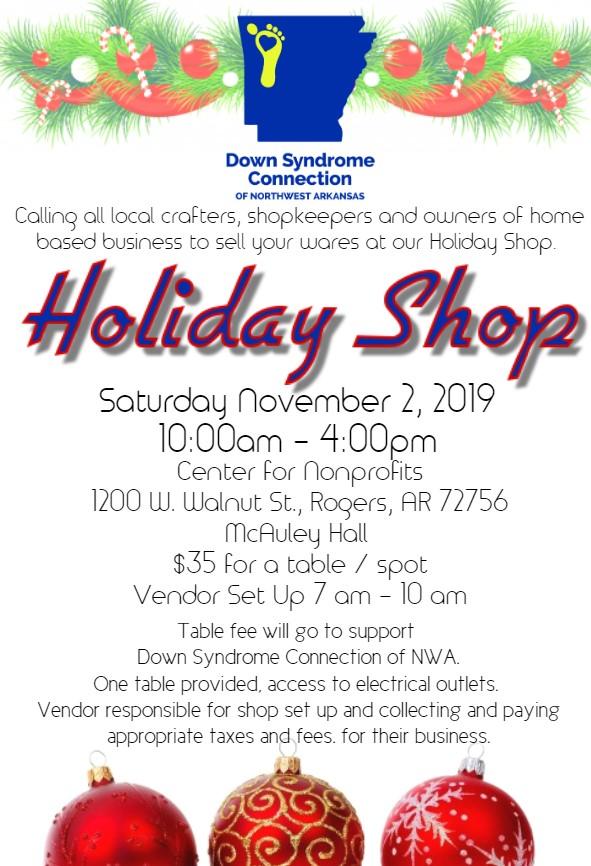 DSCNWA Holiday Shop