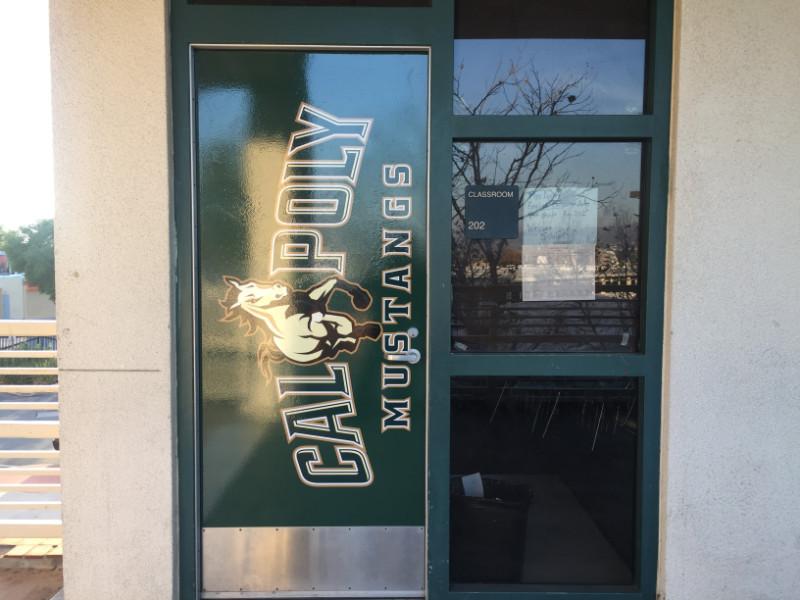 Vinyl Window Graphics for Schools Orange County CA