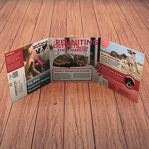 Request an estimate for printing self-mailers.