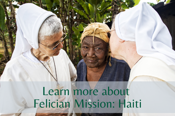 Learn more about Felician Mission: Haiti