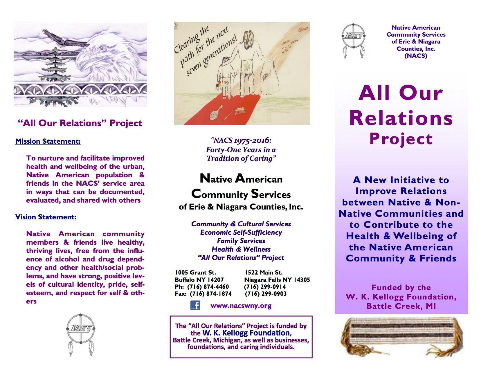 All Our Relations Project of Native American Community Services of Erie and Niagara Counties