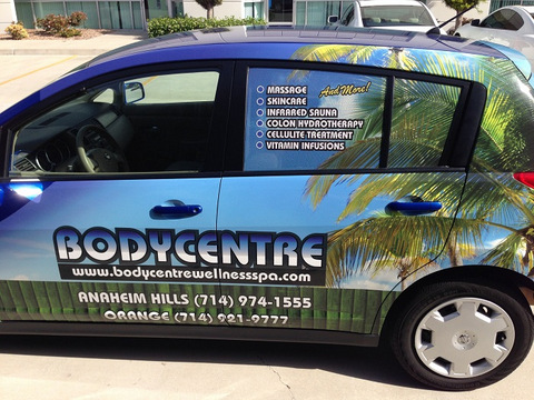 Vehicle graphics and wraps Orange County