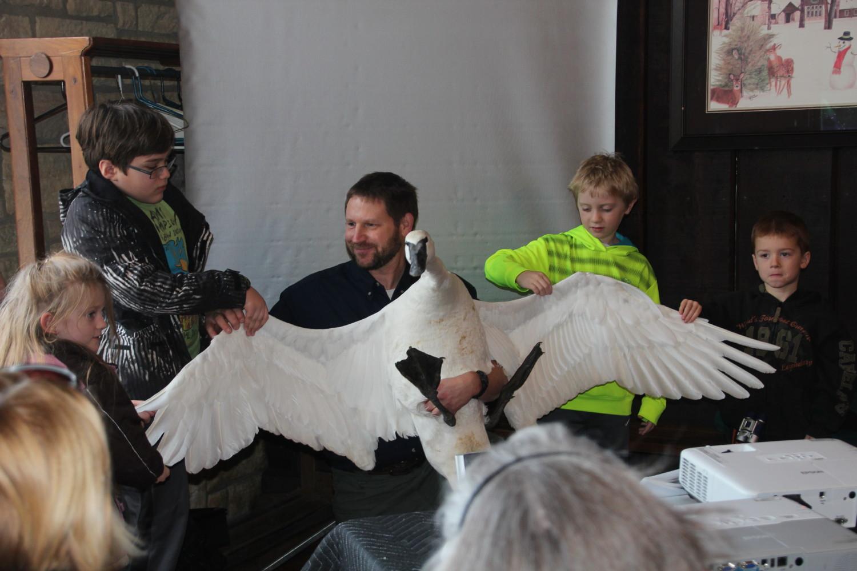 Swan Event this weekend near Des Moines, Iowa