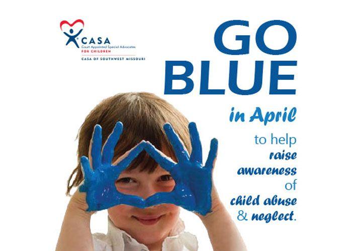 Go Blue Pinwheels for Prevention