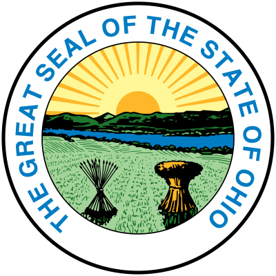 W32401 - Great Seal of the State of Ohio Wall Plaque (unofficial version)