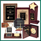 Plaques, Awards & Clocks