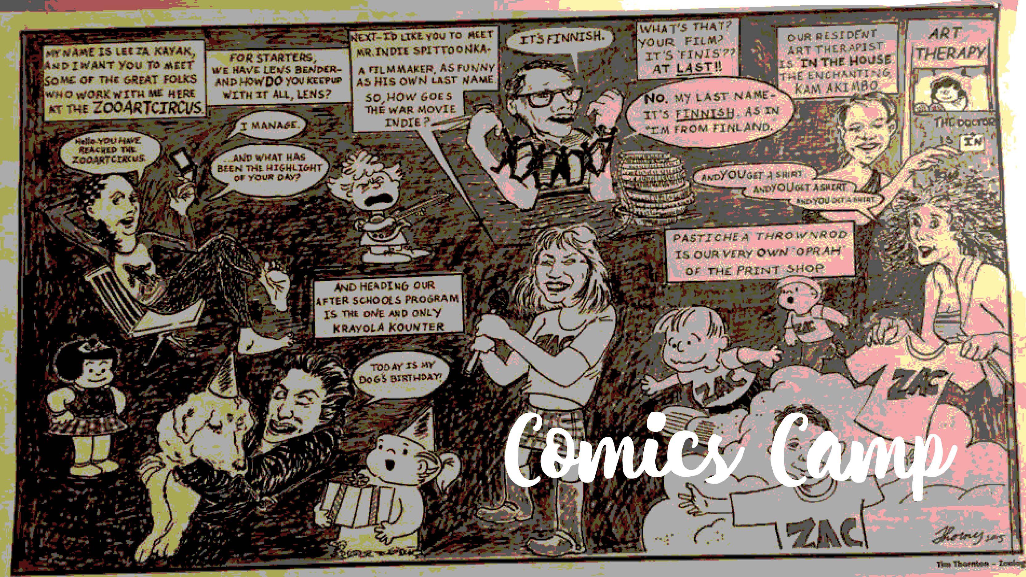Comics Camp