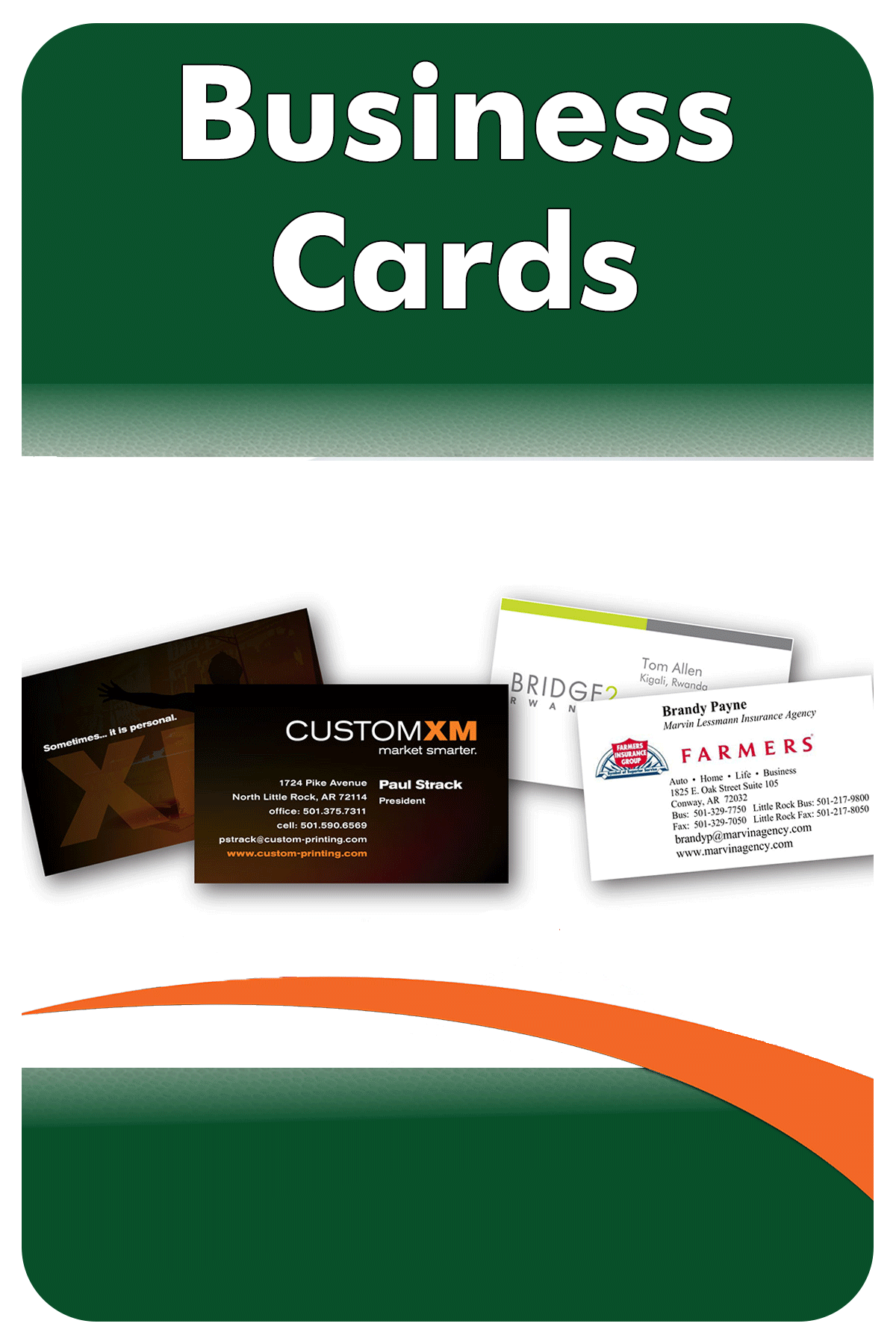 Business Cards 4x6
