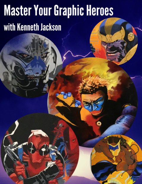 Graphic Heroes with Kenneth Jackson