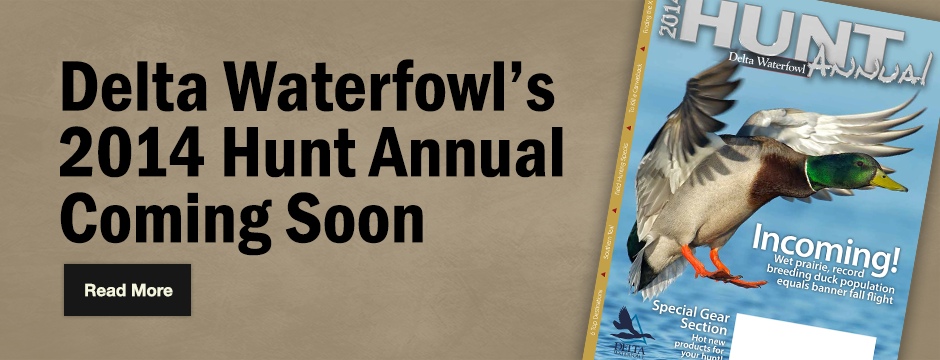 Delta Waterfowl Wallpaper Hunt annual preview