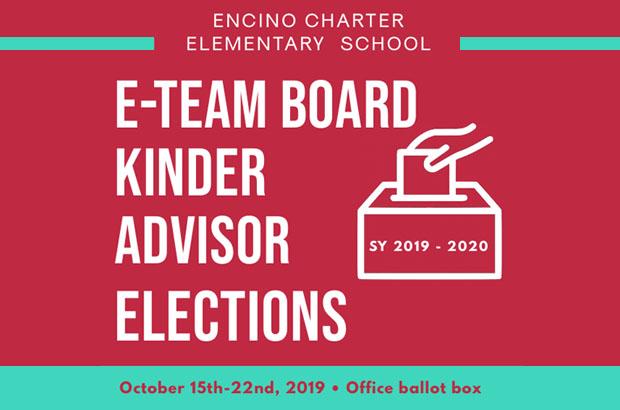 Kinder Advisor Elections