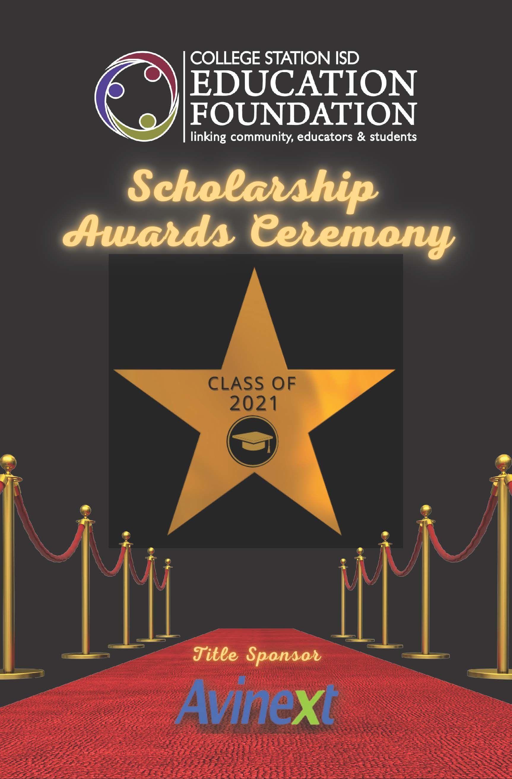 DOWNLOAD 2021 Scholarship Reception Program