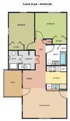 Four Plex Floorplan