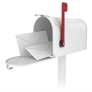 printed envelopes and stock double-window envelopes
