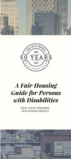 A Fair Housing Guide for Persons with Disabilities