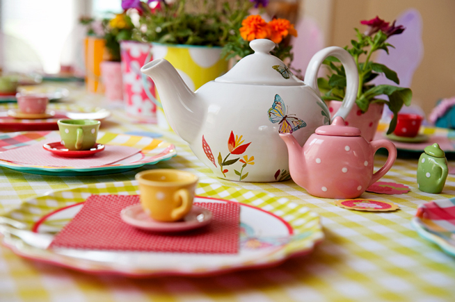 MEMBERS: Ms. Newberry's Traveling Tea Party