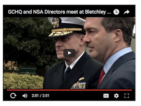 GCHQ and NSA Directors meet at Bletchley Park