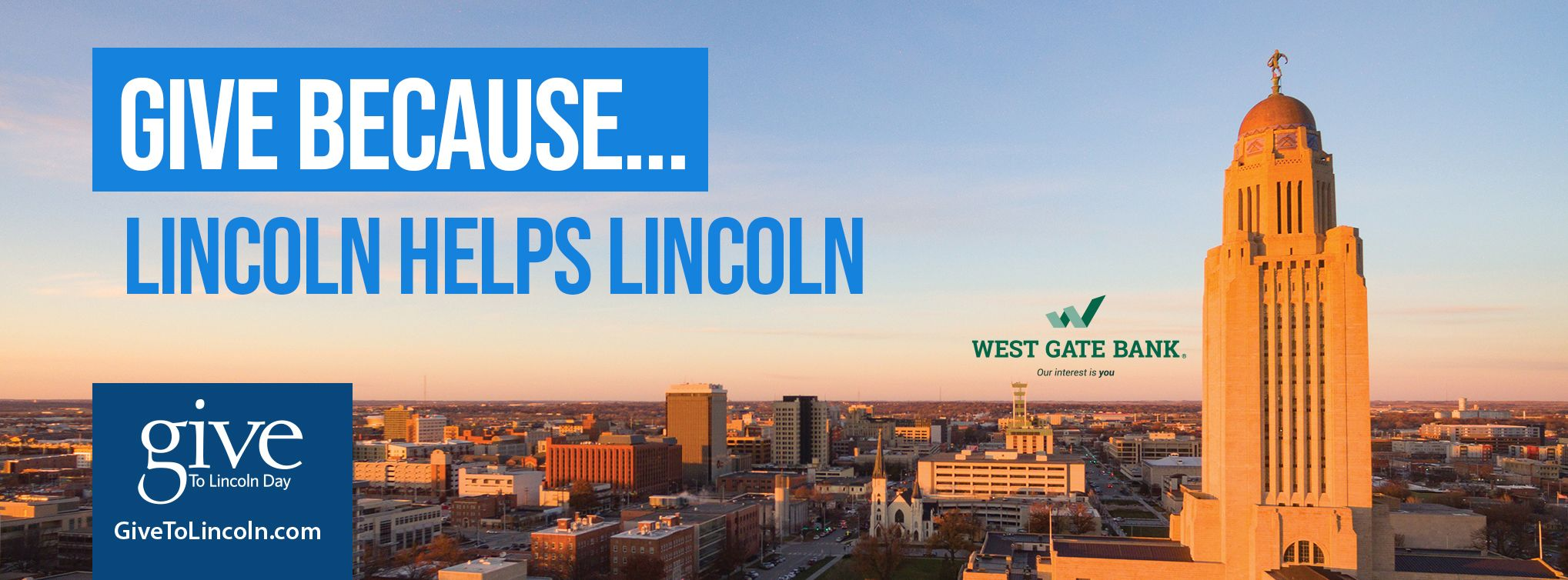 Give to Lincoln Day logo
