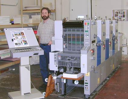 Ryobi 3304 Four Color Press