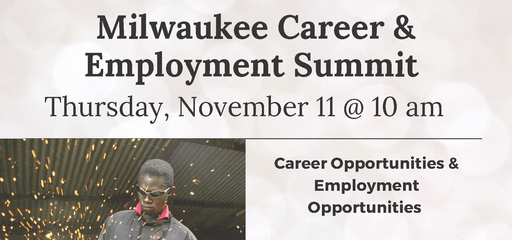 Milwaukee Career & Employment Summit 11.11.21