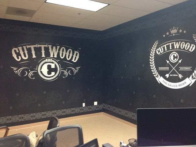 Office wall graphics Orange County