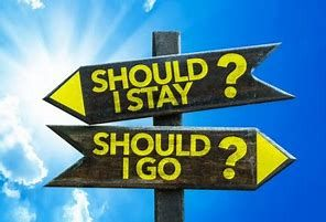 Should I Stay or Should I Go? In the Time of Covid-19