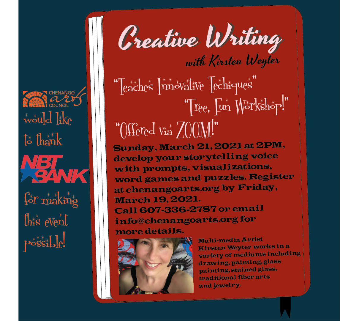 Creative Writing with Kirsten Weyter