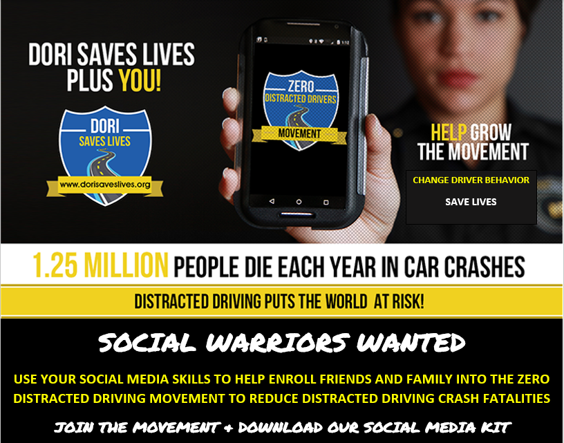 Join The Zero Distracted Driving Movement