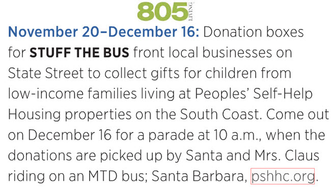 Stuff the Bus- 805 Living