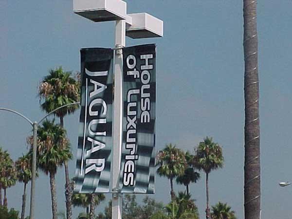 Vertical Pole Banner