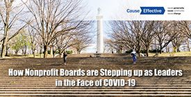 How Nonprofit Boards are Stepping up as Leaders in the Face of COVID-19