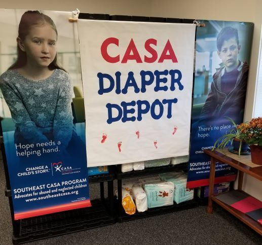 CASA Diaper Depot Opens in 2020