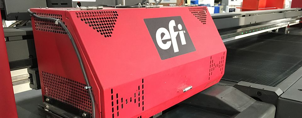 EFI™ Rastek H652 UV Printer