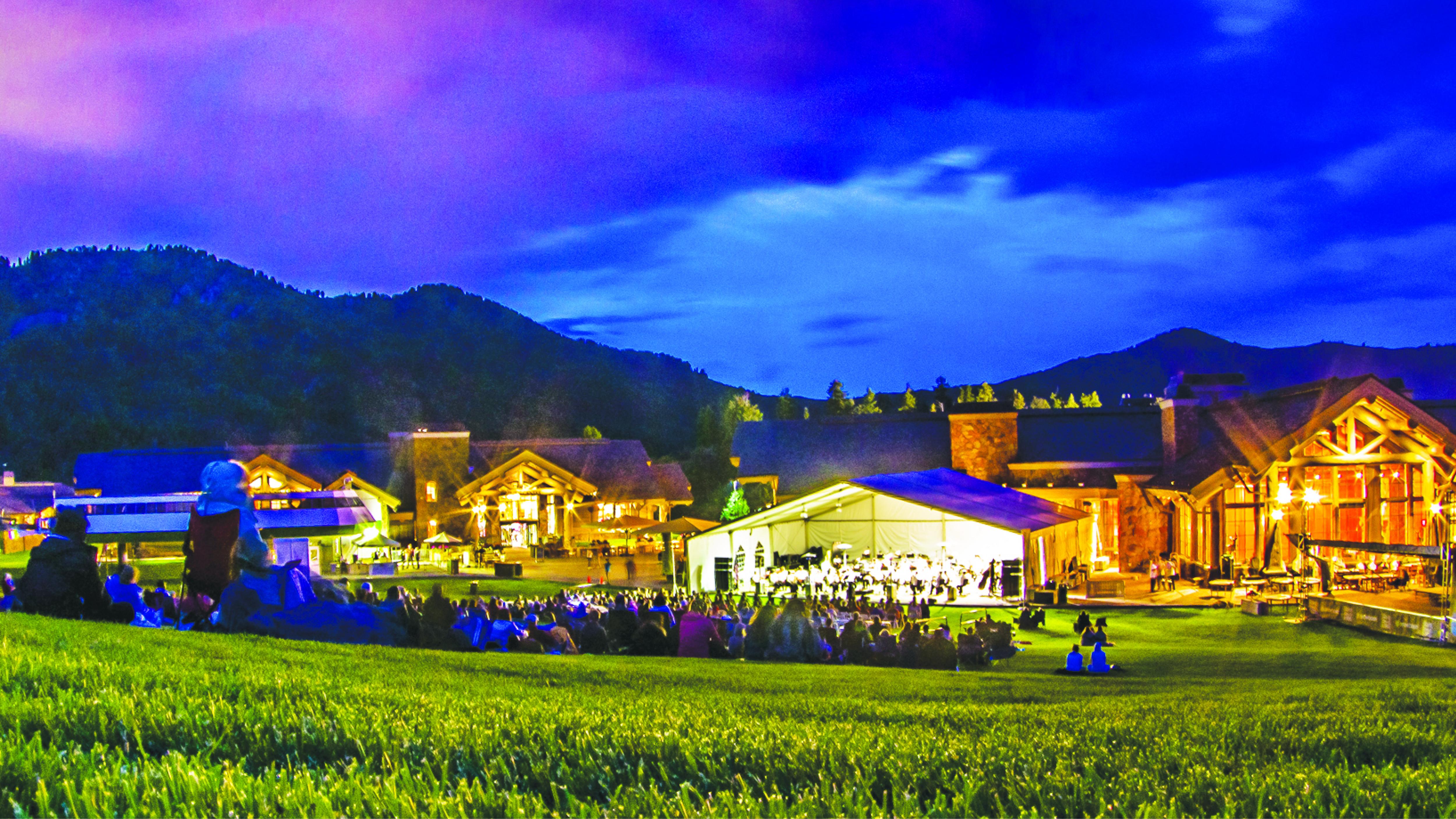 Utah Symphony's Patriotic Celebration at Snowbasin - July 3rd