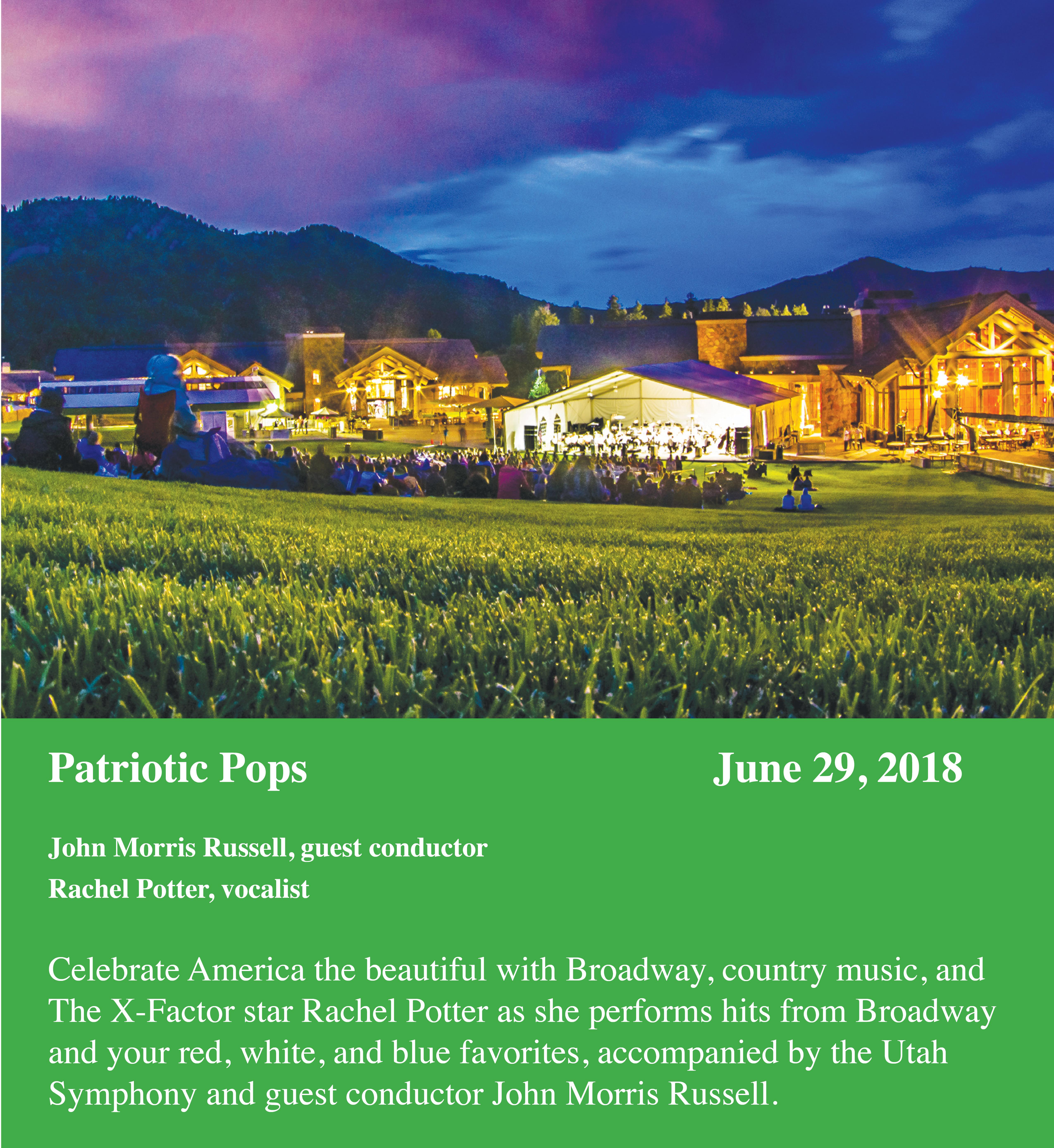 UTAH SYMPHONY: PATRIOTIC POPS - June 29