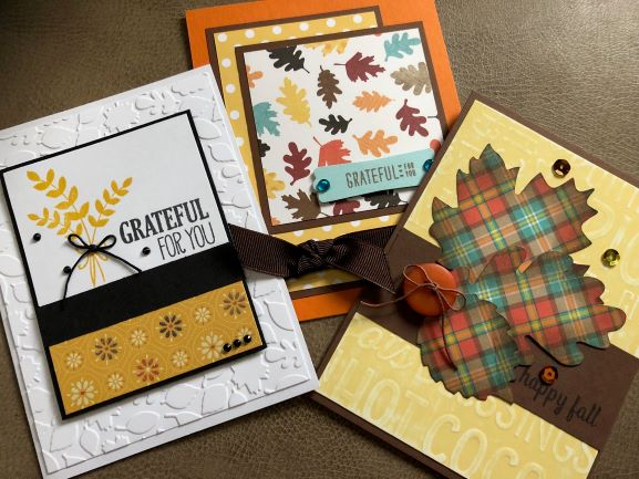 Make Your Own Fall Greeting Cards