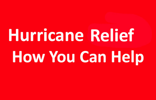 There are many ways you can help those who have been affected by the recent hurricanes