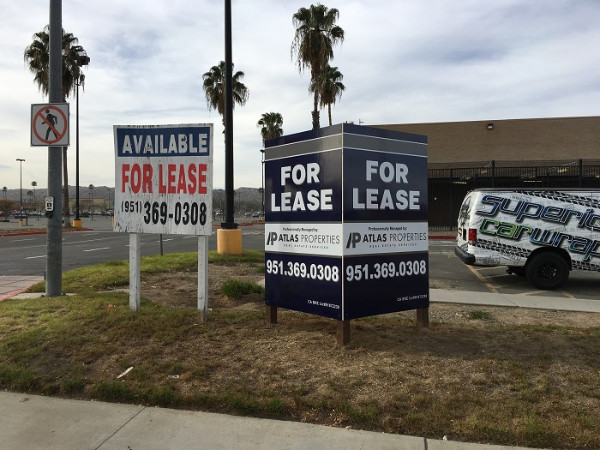 Commercial real estate signs property signs orange for 18 8 salon irvine
