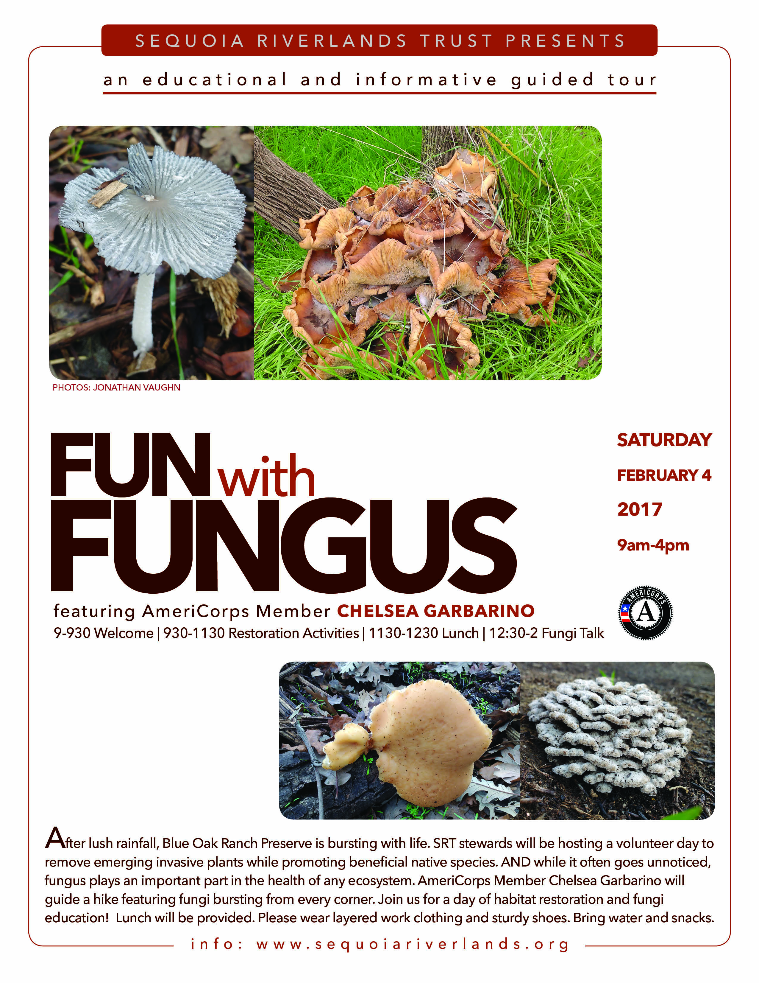 Fungi event at Blue Oak Ranch Preserve